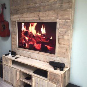 Tv Meubel Wand.Hout Het Stijlvol Productcategorieen Tv Kasten