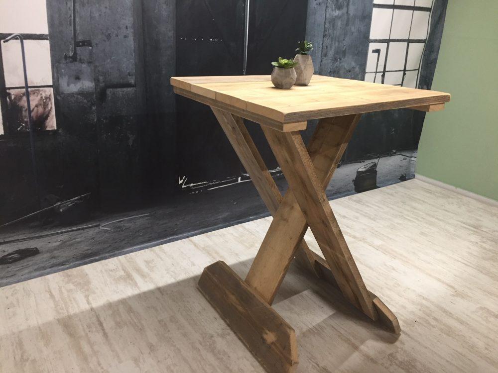 Steigerhouten Statafel Inklapbaar.Hout Het Stijlvol Inklapbare Sta Tafel Steigerhout