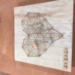 Wandbord touw €27,50