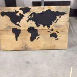 Wereldkaart €35,00
